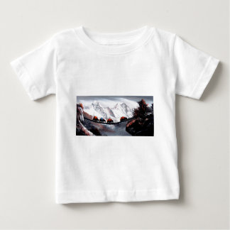 Herd Of Mountain Yaks Himalaya Baby T-Shirt