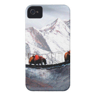 Herd Of Mountain Yaks Himalaya iPhone 4 Case