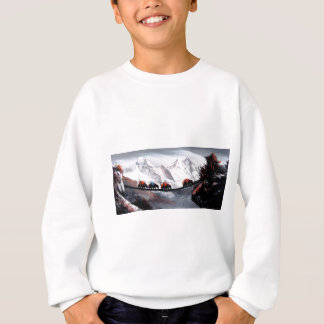 Herd Of Mountain Yaks Himalaya Sweatshirt
