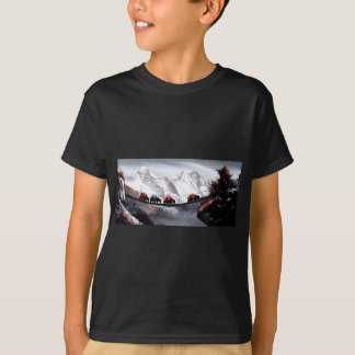 Herd Of Mountain Yaks Himalaya T-Shirt