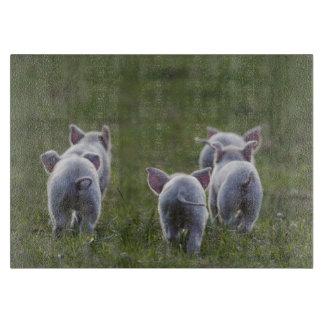 Herd of Piglets cutting board