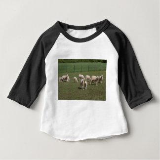 Herd of sheep baby T-Shirt