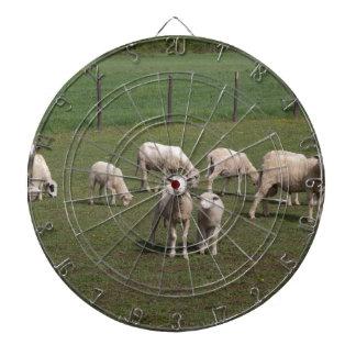 Herd of sheep dartboard