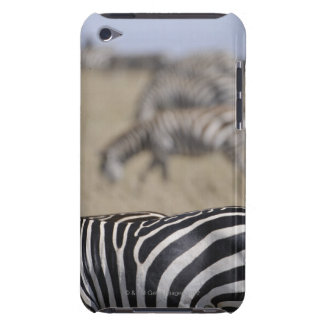 Herd of Zebras grazing, Masai Mara Game Reserve, Barely There iPod Cover