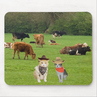 Herding Cats Mouse Pad