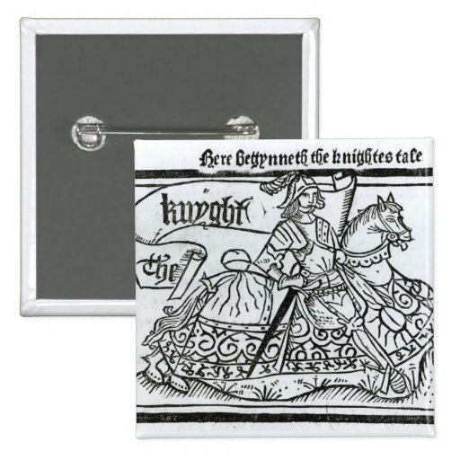 'Here Begynneth the Knightes Tale' Pins