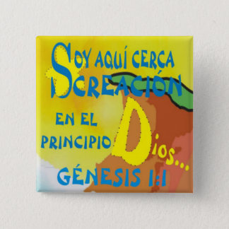HERE BY CREATION© BtnESP 2 Inch Square Button