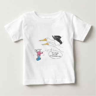 Here Comes Baby Baby T-Shirt