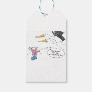 Here Comes Baby Gift Tags
