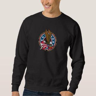 Here Comes Freedom American Bald Eagle Sweatshirt
