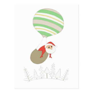 Here Comes Santa Claus POSTCARD