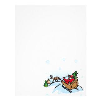 Here Comes Santa Letterhead