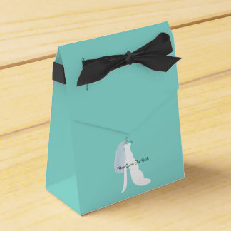 Here Comes The Bride Party Favor Boxes