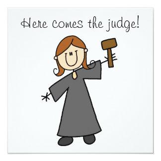 Here Comes the Judge Invitation