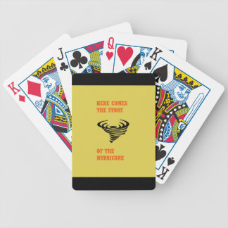 Here comes the story of the hurricane bicycle playing cards