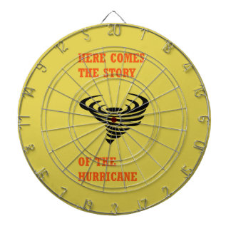 Here comes the story of the hurricane dartboard