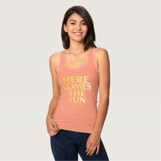 Here Comes The Sun- Coral Tank