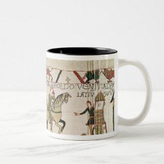 Here Duke William goes with Harold to his Two-Tone Coffee Mug