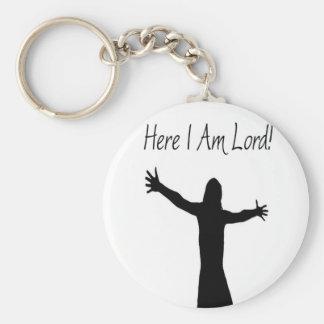 Here I Am Lord Keychain