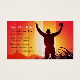 Ministry business cards business card printing zazzle ca for Ministry business cards