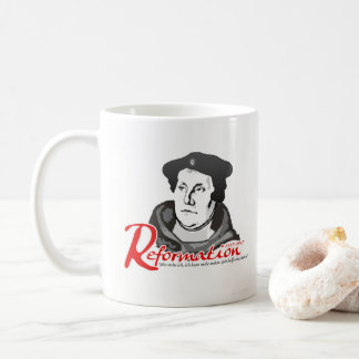 Here I Stand Martin Luther Reformation 500th Mug