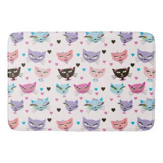 Here Kitty Kitty Bath Mat