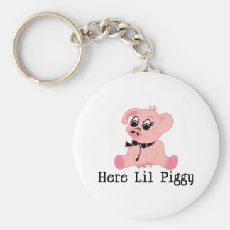 Here Lil Piggy Keychains