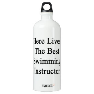 Here Lives The Best Swimming Instructor