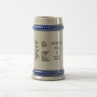 Here s How I Text International Morse Code Coffee Mug