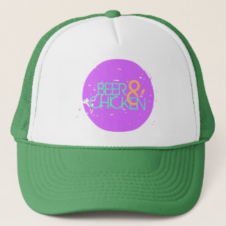 Here to Party Trucker Cap