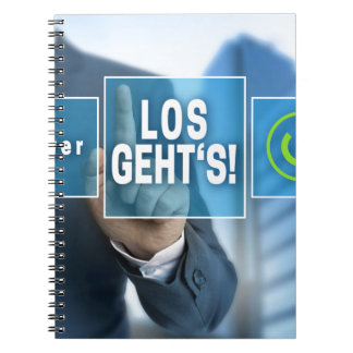 Here we go (german los gehts) touchscreen concept spiral notebook