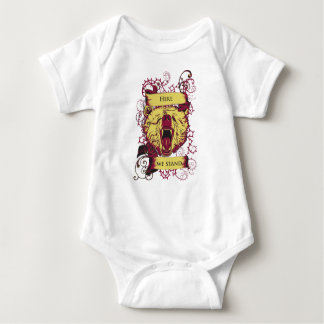 here we stand, cute monkey baby bodysuit