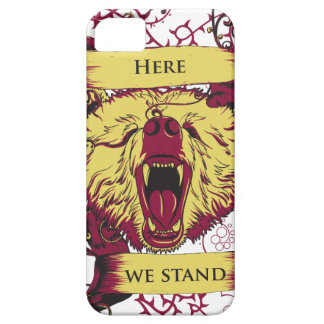 here we stand, cute monkey case for the iPhone 5