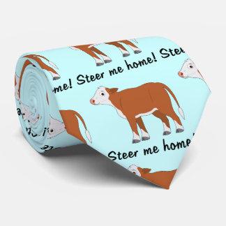 Hereford Calf: Steer me Home Tie