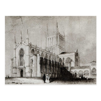 Hereford Cathedral Postcard