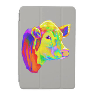 Hereford Cow in Colors iPad Mini Cover