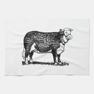Hereford Cow Kitchen Towel