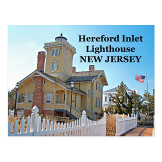 Hereford Inlet Lighthouse, New Jersey Postcard