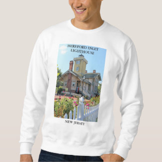 Hereford Inlet Lighthouse, New Jersey Sweatshirt