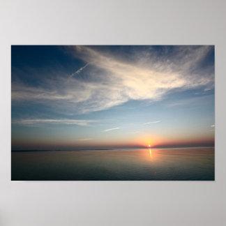 Hereford Inlet Sunrise Poster