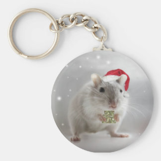 Here's a little Christmas gift for you xxx Basic Round Button Keychain
