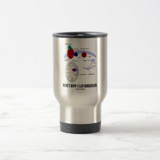 Here's How I Can Hibernate (Thermogenesis) Stainless Steel Travel Mug
