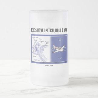 Here's How I Pitch, Roll & Yaw (Inner Ear Anatomy) Coffee Mugs