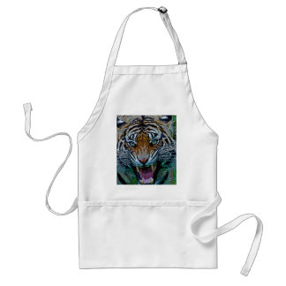 Here's Looking At You Tiger Standard Apron