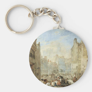 Heriot's Hospital, Edinburgh by William Turner Keychain