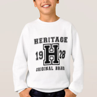 HERITAGE 1928 ORIGINAL BRAND BIRTHDAY DESIGNS SWEATSHIRT