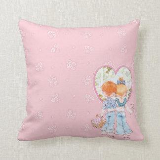 """Heritage """"Fabien & Fleur"""" Floral Throw Pillow"""