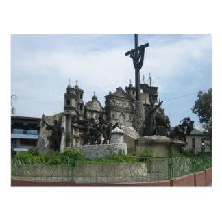 Heritage of Cebu monument Postcard