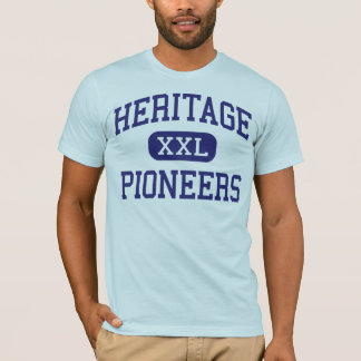 Heritage - Pioneers - High - Lynchburg Virginia T-Shirt