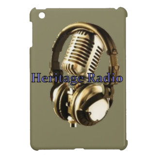 Heritage Radio Logo iPad Mini Cases
